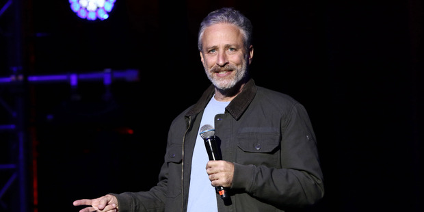 Jon Stewart. Photo / AP