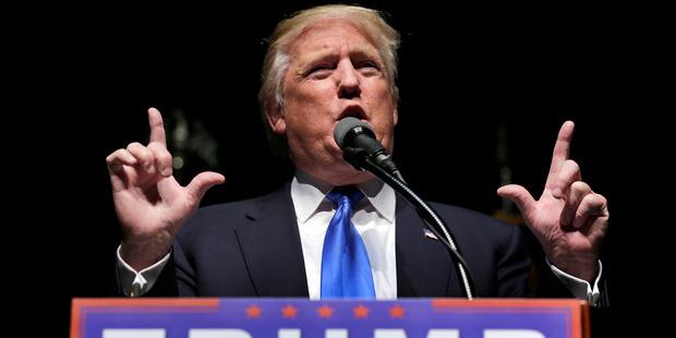 Loading Donald Trump on Monday blasted Ted Cruz and John Kasich. Photo / AP
