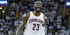 Fast, agile, 2.08m tall and 120kg, LeBron James would be a rugby superstar. Photo / AP