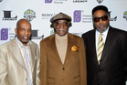 Billy Paul (centre) continued to record during the late 1970s and 80s. Photo / AP