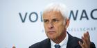 Volkswagen CEO Matthias Mueller. Photo / AP