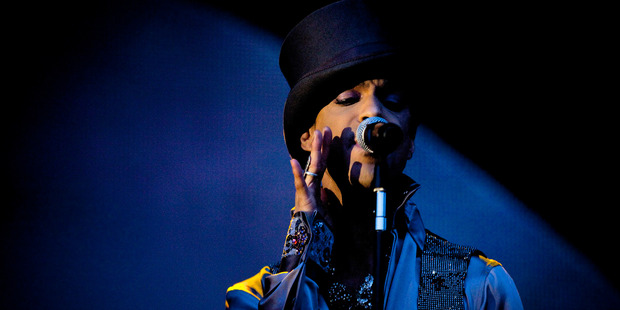 American singer and songwriter Prince. Photo / AP