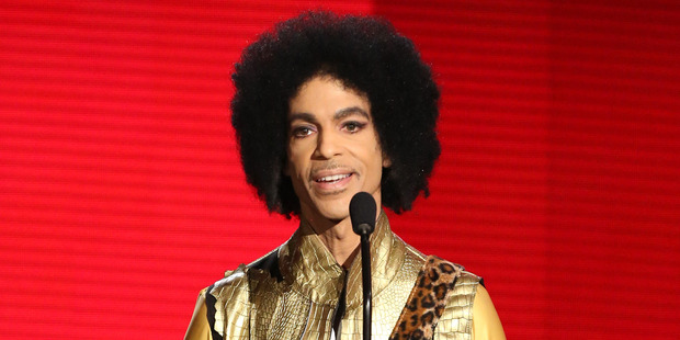 Legendary musician, Prince, died aged 57. Photo / AP