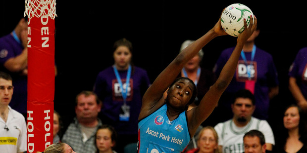 Goal shooter Jhaniele Fowler-Reid has been excellent for the Southern Steel. Photo / Getty