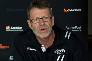 New Zealand hockey Black Sticks men's coach Colin Batch. Photo / Brett Phibbs