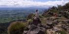 The view from Mt Pirongia  towards Te Awamutu is glorious. Photo / NZME.