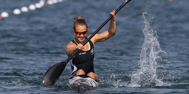 New Zealand kayaker Lisa Carrington. Photo / Brett Phibbs