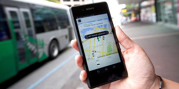 Uber is under attack from the New Zealand Transport Agency, which warns its drivers they face fines if they don't operate within the law. Photo / Dean Purcell