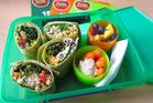 A lunchbox with a healthy lunch.