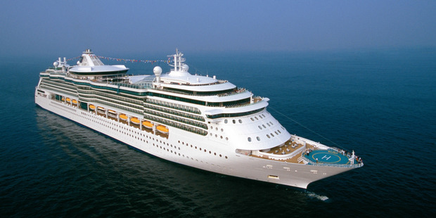 St Vincent de Paul supplied The Radiance of the Seas with five thousand altar breads after it had run out. Photo /  Supplied
