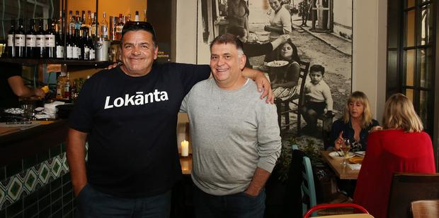Chef Zeki Kizilata (left) and one of the owners Ali Arsan at Lokanta. Photo / Getty Images