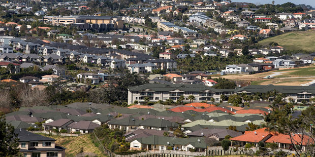 There were 32,000 houses sold in Auckland in the year to March, according to the Real Estate Institute of New Zealand. Photo / Michael Craig