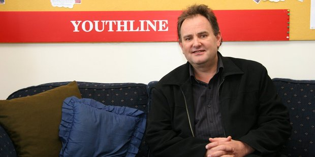 Stephen Bell, CEO for Youthline, has never seen such a generous donation before. Photo/File