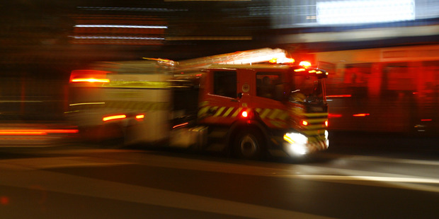 Fire crews were called to the scene just after 3.50am. Photo / File