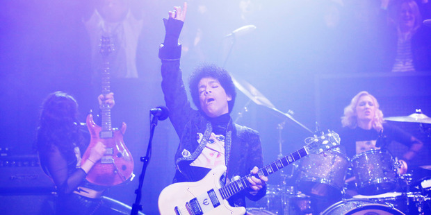 Music legend, Prince. Photo / Getty Images