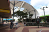 The canvas canopy has been erected over part of Cameron St Mall. Photo / Michael Cunningham