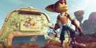 A scene from Playstation 4 game Ratchet & Clank.