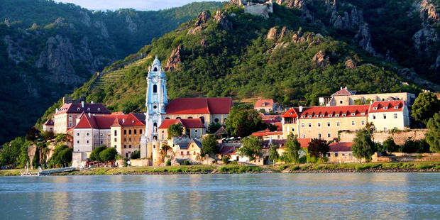 The cruise was supposed to cruise down European rivers like the Danube (pictured), but passengers were asked to travel by bus instead. Photo / Shutterstock