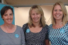 EXPERTS: Arletta van den Bosch (left), Teresa Moore and Elisa Slaat, three of the Autism Foundation team who will be visiting Northland. PICTURE/SUPPLIED