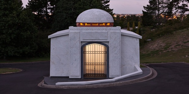 Death awaits us all. The Waikumete Mausoleum, awarded for Small Project Architecture.