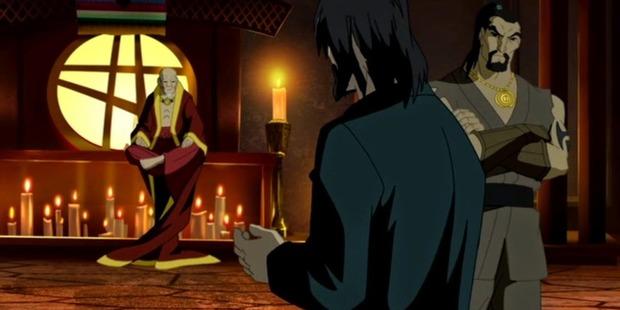 Scene from the animation Doctor Strange.