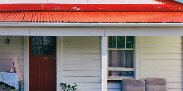 Photo of the Grey Lynn flat where Street Chant recorded much of their Hauora album.