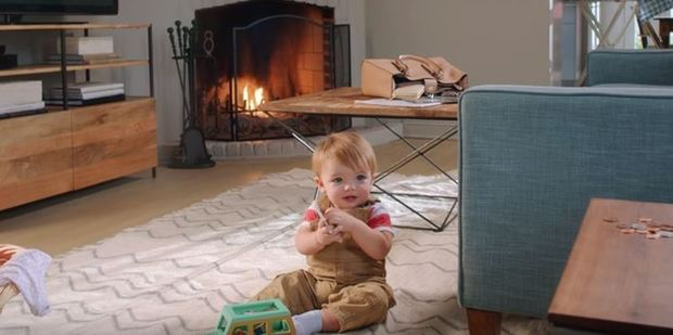 There are 11 hazards in this living room. Photo / YouTube, Tide