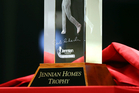Jennian Homes Charles Tour Trophy for overall series points winner.
