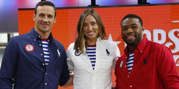The Team USA uniform, designed by Ralph Lauren. Photo / Instagram.