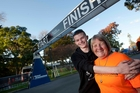 IN THE FAMILY: Marathon legend Colin Smyth's wife Pat Smyth and 18-year-old grandson Sam Goodey will walk the Rotorua Marathon today in his honour. PHOTO/BEN