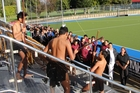 A powhiri was held on Tuesday to welcome all the visiting players.