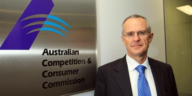 ACCC chairman Rod Sims. Photo / News Limited