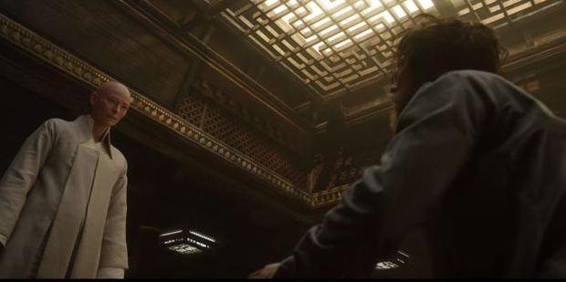 Scene from the movie Doctor Strange.