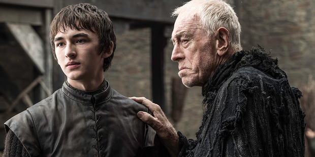 Bran Stark in scene from the upcoming episode of Game of Thrones