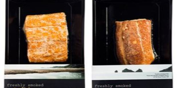 Ahia brand freshly smoked Gemfish (200g) and freshly smoked Blue Moki (200g) are among the products being recalled. Photo / www.mpi.govt.nz
