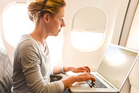You'd be better off reading a book then trying to connect to in-flight wifi. Photo / iStock