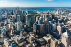 Sydney CBD, Central Business District from above. Photo / iStock
