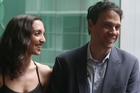 Karate Kid, Ralph Macchio and daughter Julia Macchio talk about their experience in New Zealand, the show Flashdance and whats next for Julia, outside Auckland's Civic Theatre.