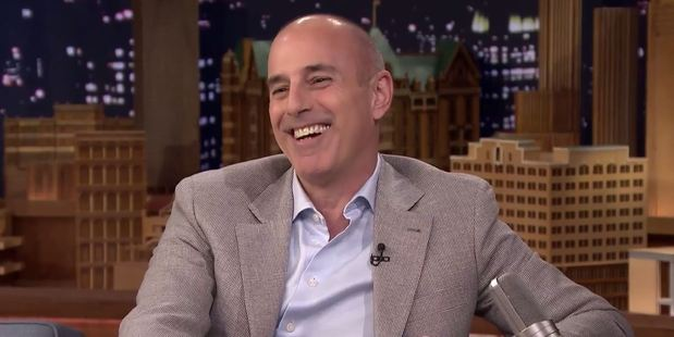 Loading Matt Lauer says he held it in for four days due to New Zealand's outhouses. Photo / Youtube