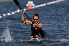 New Zealand kayaker Lisa Carrington has a strong chance to defend her Olympic title. Photo / Brett Phibbs