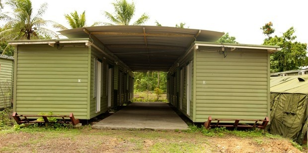 Facilities at the Manus Island Regional Processing Facility. Photo / Getty