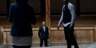 Watch: Obama visits Globe Theatre