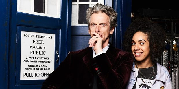 Loading Pearl Mackie has been revealed as the Doctor's new companion, Bill. Photo / BBC