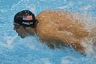 Michael Phelps won four gold at the London Olympics. Photo / Brett Phibbs