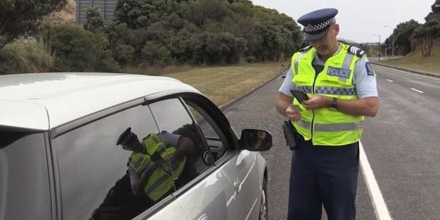 Loading From today, Police are streamlining the process for issuing infringements. Photo / NZ Police