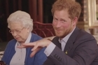 It helps to have friends in high places when you're promoting an athletic event.  That's certainly the case for Prince Harry, who released a video on Friday promoting the upcoming Invictus Games for wounded veterans.  The cast includes his grandmother Queen Elizabeth II, and Barack and Michelle Obama, who were dinner guests of Harry's last week.