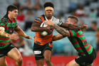 Kevin Naiqama of the Tigers makes a break. Photo / Getty