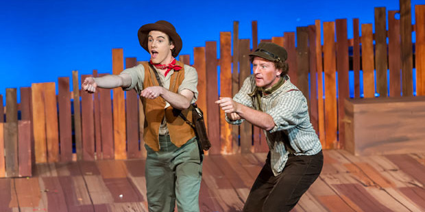 Along with the gentle laughs, there are many wondrous moments and Jane Hakaraia's superb lighting design adds to this.