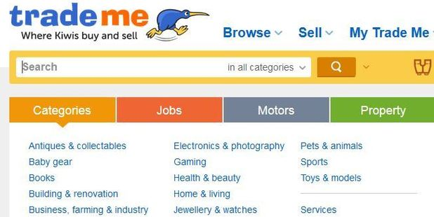 Trade Me has launched a new service. Photo / Trade Me