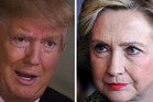 Donald Trump and Hillary Clinton. Photos / Getty Images